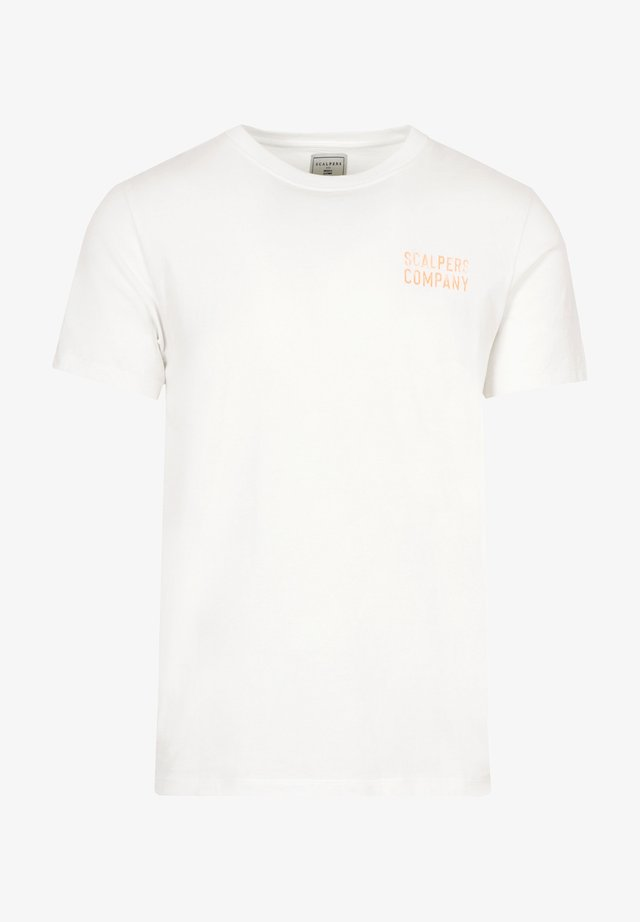 T-shirt con stampa - off white