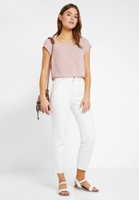 ONLY - ONLVIC SOLID  - T-shirts med print - pale mauve - 1