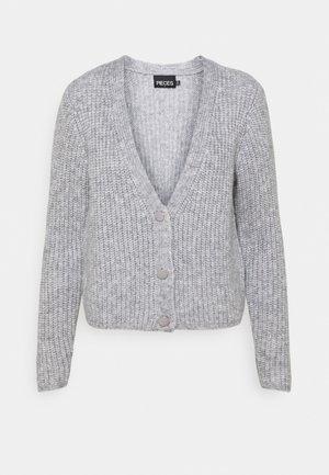 PCCILLA  CARDIGAN  - Cardigan - light grey melange