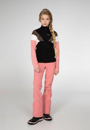 EVY JR  - Fleece jumper - true black