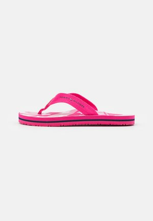 T-bar sandals - fuchsia