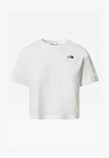 THERMOBALL TENT MULE V - Print T-shirt - tnf white/tnf black