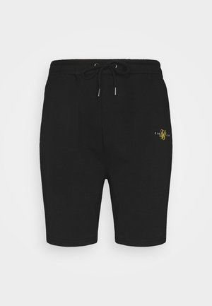 DUAL LOGO - Shorts - black