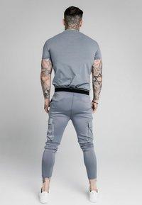 SIKSILK - GYM TEE - Camiseta básica - blue slate - 2