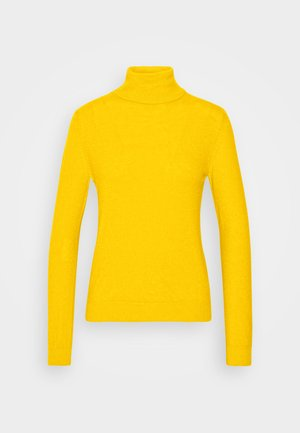 TURTLE NECK - Jumper - mustard