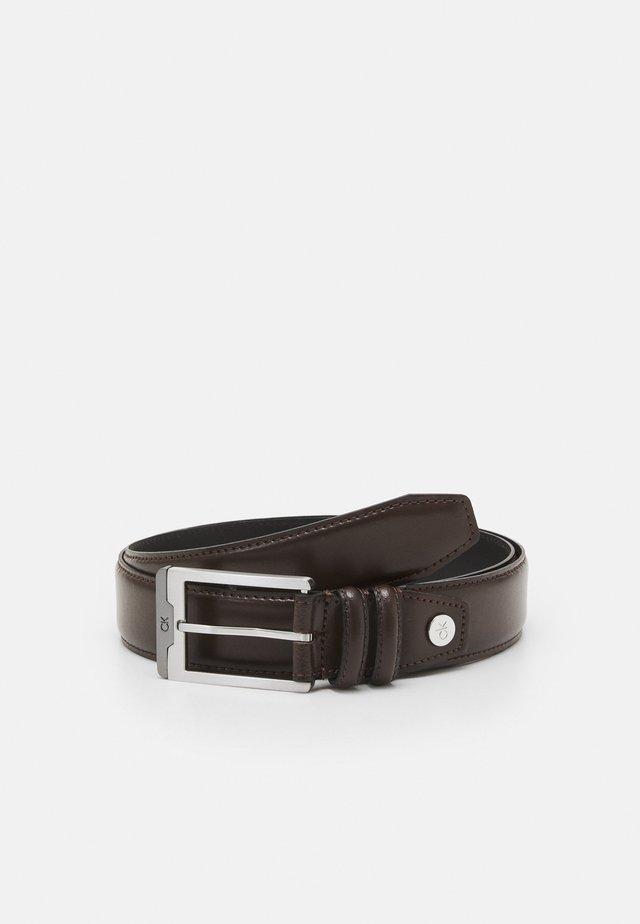 INSERT  - Belt - dark brown
