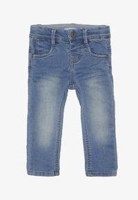 Name it - NMMROBIN DNMTOBO PANT - Straight leg -farkut - light blue denim - 2