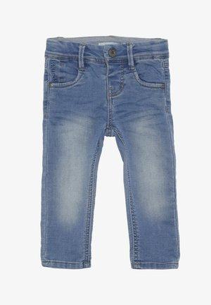 NMMROBIN DNMTOBO PANT - Straight leg jeans - light blue denim