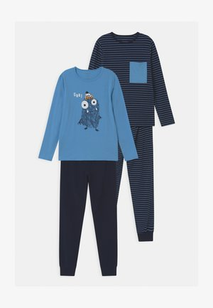 NKMNIGHTSET MONSTER 2 PACK - Pyjama - blue