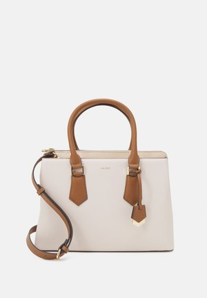 BOZEMANI - Handbag - bone/camel/gold-coloured
