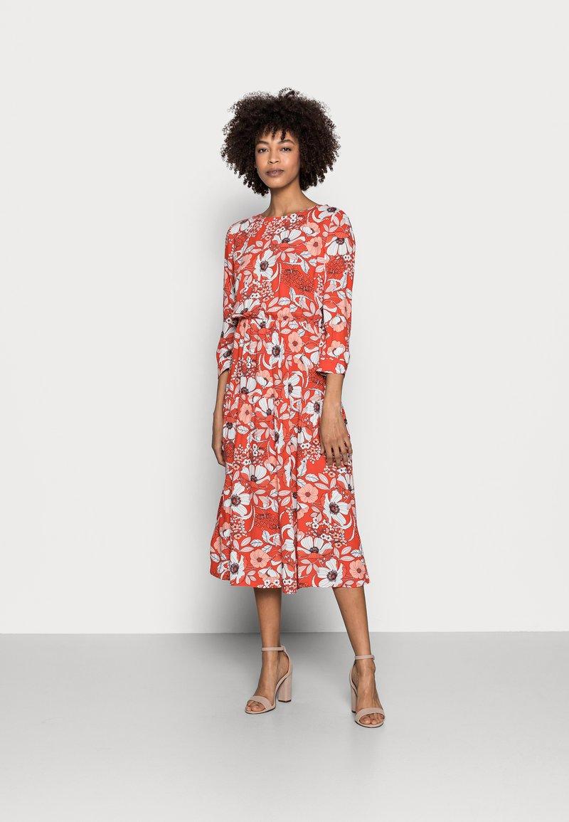 Esprit - DRESS - Day dress - orange red