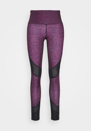 LEGGING CROPPED SNAKE - Tights - purple