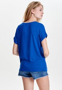 ONLY - ONLMOSTER ONECK - T-shirts - royal - 2