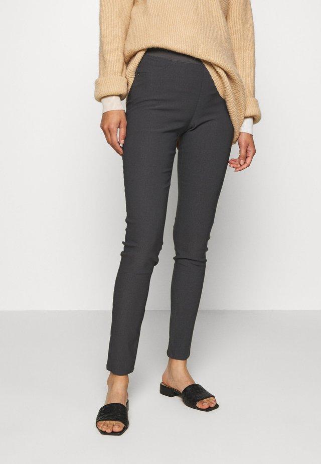 SHANTAL POWER - Trousers - dark grey