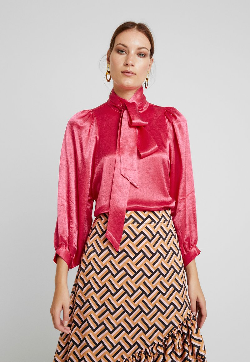 Second Female - MOONLIGHT BLOUSE - Blouse - rose red