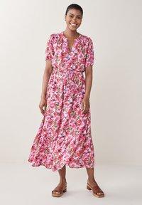 Next - Maxi dress - pink - 0