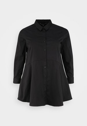 FIT AND FLARE - Blouse - black