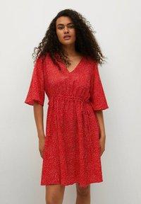 Mango - Day dress - rood - 0