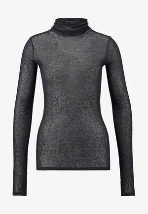 MASSACHUSETTS TURTLE NECK - Long sleeved top - noir