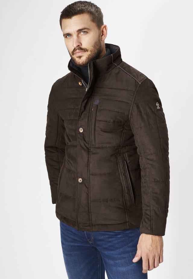 TOBIAS - Light jacket - dk. brown