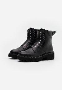 Liu Jo Jeans - PINK  - Støvletter - black - 2