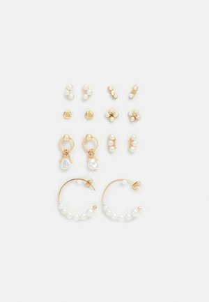 FGEMELY EARRINGS 7 PACK - Earrings - gold-coloured