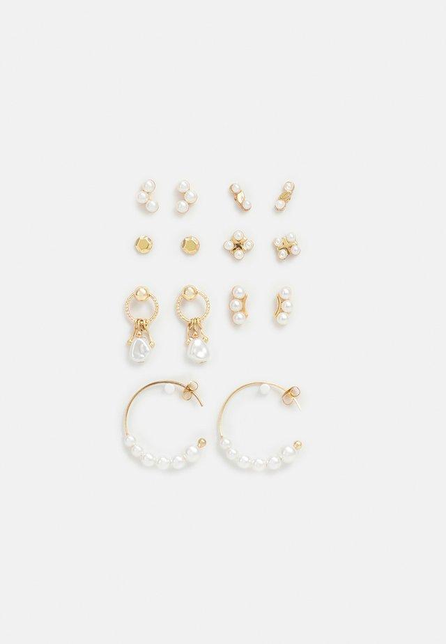 FGEMELY EARRINGS 7 PACK - Oorbellen - gold-coloured