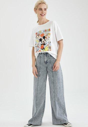 DISNEY - Print T-shirt - white