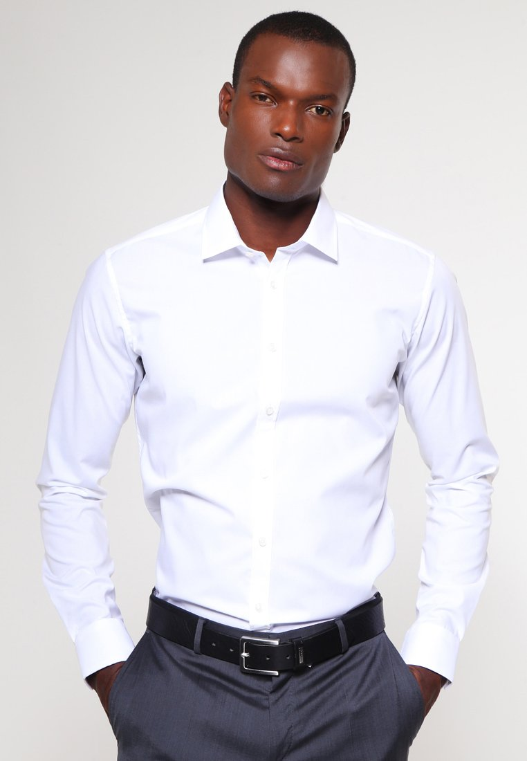 Seidensticker - MODERN KENT X SLIM - Zakelijk overhemd - weiss
