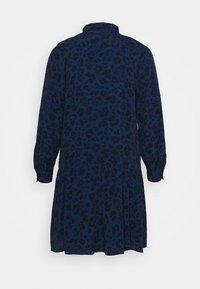 GAP Petite - BOW NECK DROP WAIST - Day dress - blue animal - 5