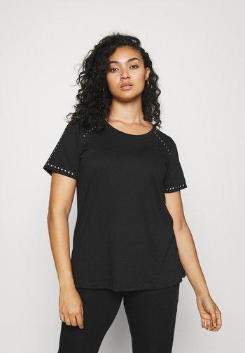MBARTA - Basic T-shirt - black