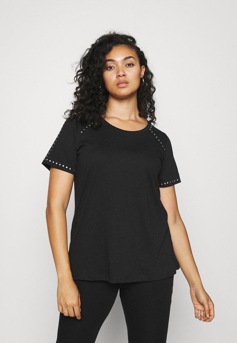 Zizzi - MBARTA - Basic T-shirt - black