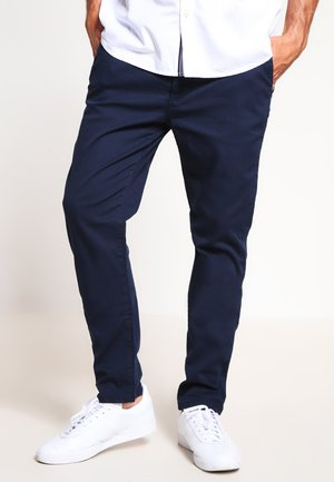 Pantalones chinos - dark blue