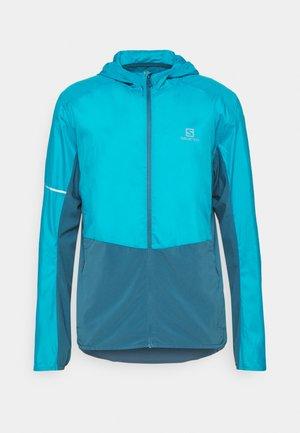 AGILE HOODIE - Outdoor jacket - barr reef/mallard blue
