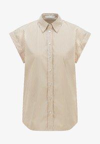 BOSS - BEMIRTA - Button-down blouse - beige - 5