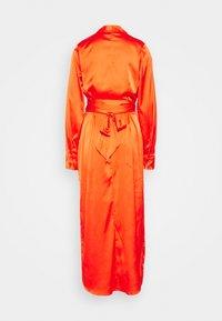 Never Fully Dressed Tall - LONGSLEEVE WRAP DRESS - Vapaa-ajan mekko - tangerine - 1
