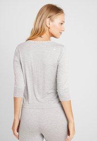 AMOSTYLE - LIGHTWEIGHT - Pyjamasoverdel - grey combination - 2