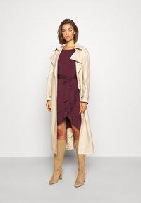 Vero Moda - VMPOPPY TIE SHORT DRESS - Shift dress - fig - 1