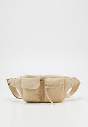 NEW AGNES WAIST BAG - Ledvinka - beige