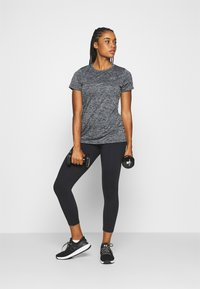 Under Armour - TECH TWIST - T-Shirt basic - black - 1