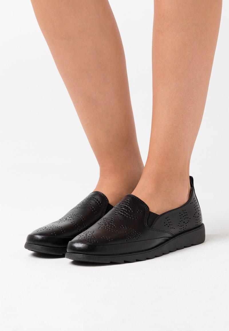 Jana - Slip-ons - black