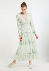 DreiMaster - Maxi dress - minze - 3