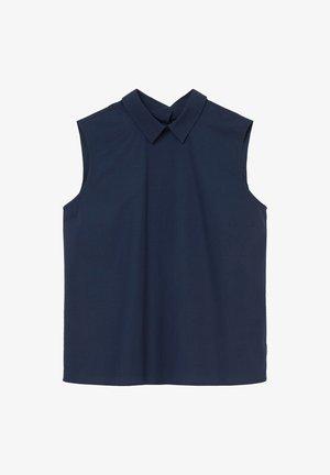 MIT FALTEN-DETAILS IM RÜCKEN - Blouse - dress blue