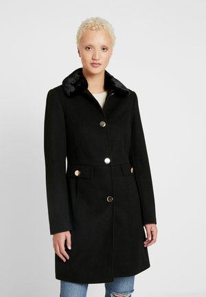 COLLAR DOLLY - Classic coat - black
