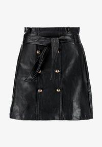 River Island - A-line skirt - black - 4
