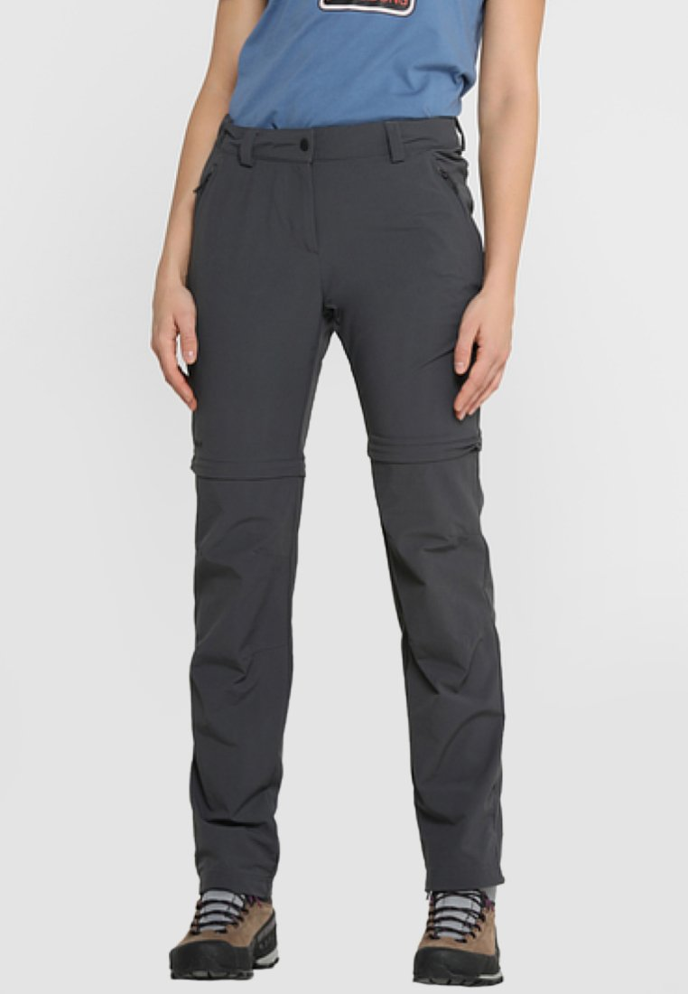 Schöffel - ASCONA ZIP OFF - Outdoor trousers - asphalt
