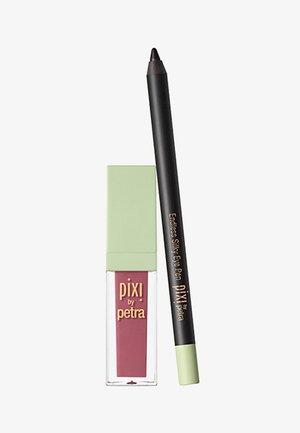 MATTE LAST LIQUID LIP + ENDLESS SILKY EYE PEN - Makeup set - Black Noir & Really Rose
