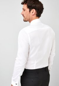 Next - BIB FRONTED DRESS SHIRT - Camicia elegante - white - 1