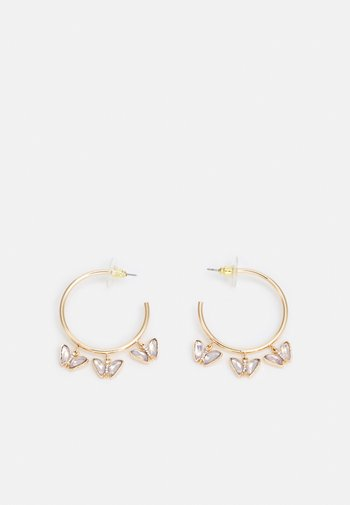 KENDRA - Earrings - clear/gold-coloured