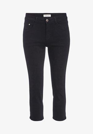 SCHLANKE EINFARBIGE BASIC-HOSE - Pantalon classique - black